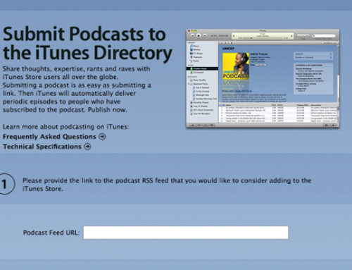 How to get a podcast on iTunes